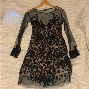 For the Love of Lemons Lace Dress size L